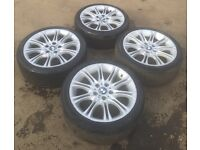 Mv2 alloys BMW mint condition good tyres