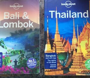 Lonely planet Bali travel book