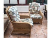 Conservatory furniture 1 sofa 2 chairs