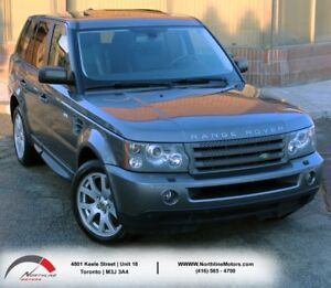 2009 Land Rover Range Rover Sport HSE|Navigation|Sunroof|Heated
