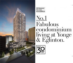 Brand New 1 Bedroom - 30 Roe (Yonge & Eglinton) - Assignment