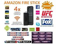 AMAZON FIRE STICK FULLY LOADED KODI + MOVIES✔SPORTS✔TV SHOWS✔KIDS✔ADULT CONTENT