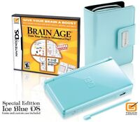 Like New Ice Blue DS Lite Special Edition w Case