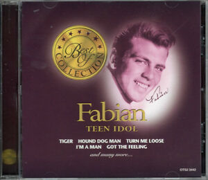 FABIAN TEEN IDOL BEST OF COLLECTION BRAND NEW FACTORY WRAPPED CD London Ontario image 1