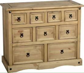 solid oak units