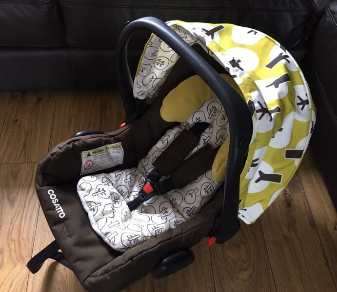 Cosatto Giggle Car Seat With Newborn Insert