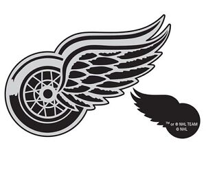 Detroit Red Wings Shield It Adhesive Logo (New)