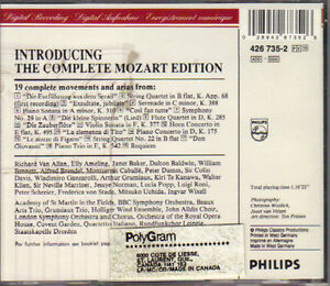 Wolfgang Amadeus Mozart - The Complete Mozart Edition West Island Greater Montréal image 2