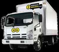 WRIGHT BRO'S MOVING$80=(2men & 3ton truck)Free Est.250-858-6747