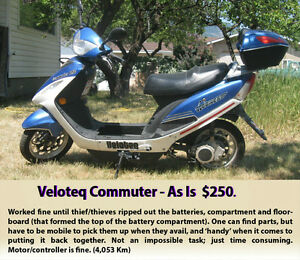 Veloteq Commuter (electric scooter)