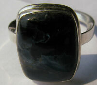 SILVER & NATURAL PETERSITE SIZE 10 1/2
