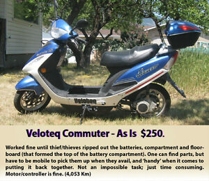Veloteq Commuter (electric scooter) - As Is