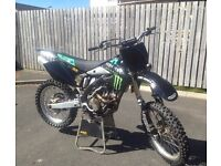 Kawasaki kxf 250 motocross bike 125 450 85 crf ktm yzf
