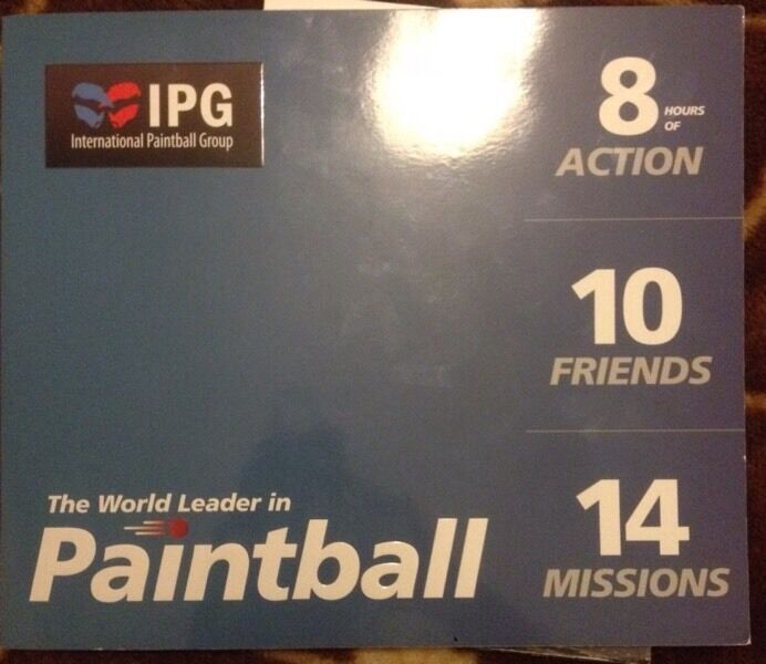 10 paintball tickets for sell :: special offer :: don't missed it .