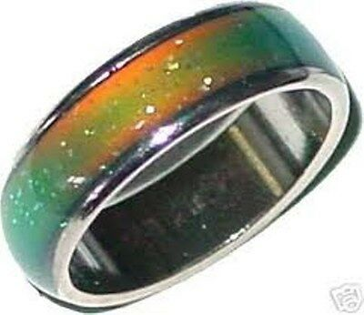 ☮ 12 chakras mood ring transformed educational & awaking item wicca /  wiccan ☮