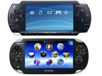 PSP & PS VITA FOR CASH IN HAND