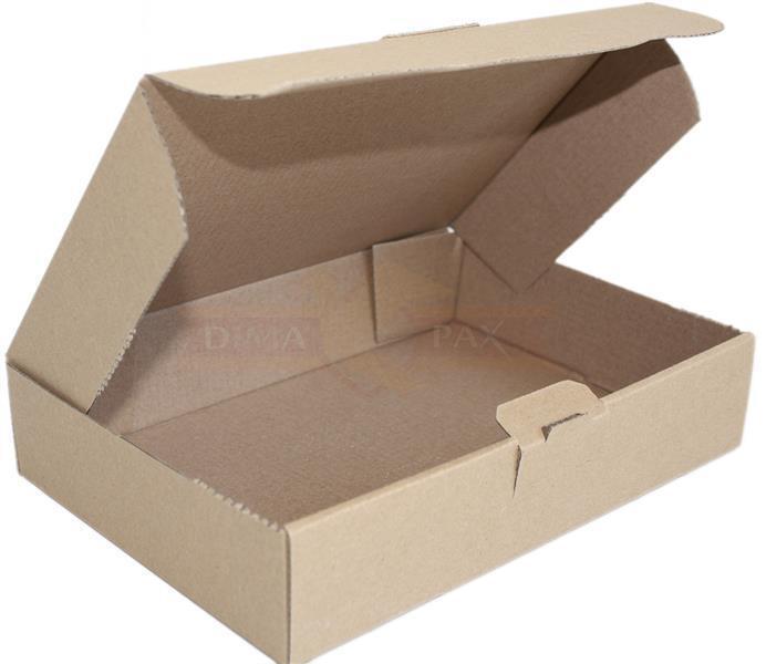 400 Großbrief Karton 180 x 160 x 15 mm Brief Postkarton Box Faltschachtel braun