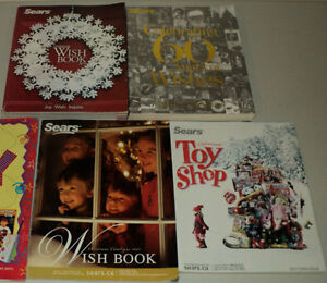 4 SEARS Wish Book Catalogues (2007, 2010, 2011, 2012)