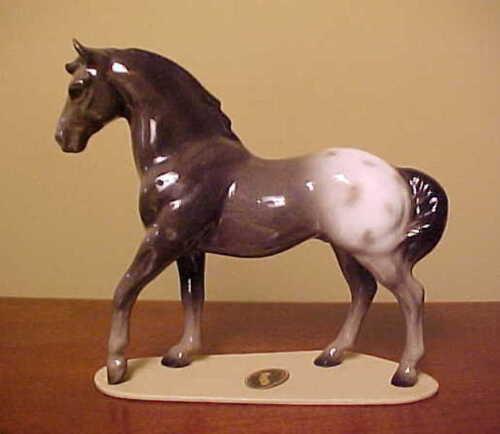 "RETIRED Hagen-Renaker Specialty #3267 Appaloosa Stallion ""Orion"" - DARK VERSION"