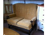 Sofa, cottage, wooden framed