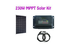 230W Solar Kit with MPPT controller and cable