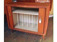 Record Storage Cabinet - Retro/ Vintage