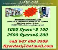 FLYERDELIVERY SERVICES