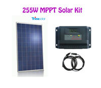 255W Trina Solar Kit + MPPT controller  + cable