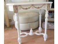 TABLE. Console Table lovely shabby chic £75