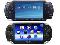 PSP & PS VITA WANTED!