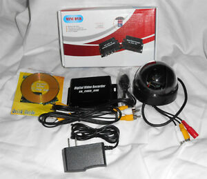 1 Channel DVR W/Dome Cam - Record Motion At Front Door (Chwk)