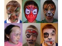 Friendly &reliable face-painter for children's parties & local events in Thetford & Bury St Edmunds