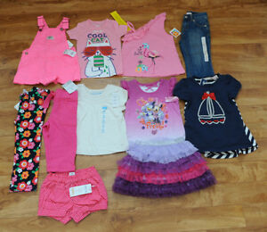26 items - Girl size 24 month / 2T