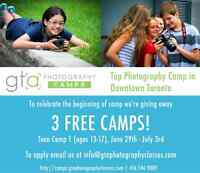 SPECIAL OFFER: Teen Photography Summer Camp | GTA Photography