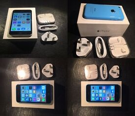 IPHONE 5c Blue 16gb unlocked to all networks 😀👍 Mint condition (txt Chris 07462496929)