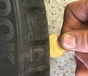 Audi / VW winter tires and wheels in size: 245/40/R18 Kitchener / Waterloo Kitchener Area image 2