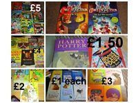 loads of childrens books prices on pic (more books and more pics in ad)