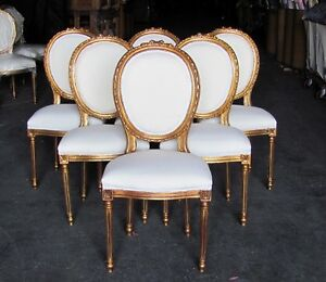 Louis Xvi Dining Room Chairs Mahogany and More Table and Chair