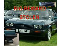 Ford Capri 280 Brooklands STOLEN REWARD £5000