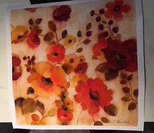 Flowers art print clearance sale. RRP$40 Mornington Clarence Area Preview