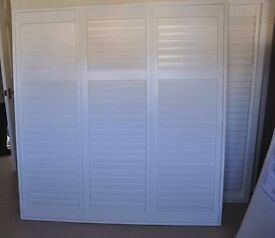 Hillarys White Wooden Shutters in excellent condition