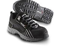 Brynje Black Knight safety shoes. Size: 43