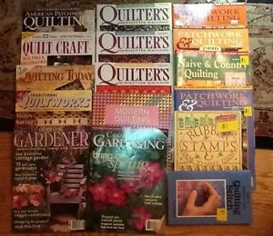QUILTING BOOKS/MAGs/Doll Clothes/Stuffed toys/Crafts West Island Greater Montréal image 8