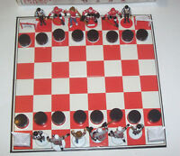 Rare 2002  complete Hockey Chess Set