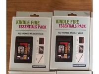 KINDLE FIRE PACK (case, screen protector, stylus) BRAND NEW