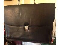 Lady's briefcase black
