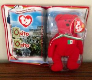 2 Collectable McDonalds Bears Osito and Germania