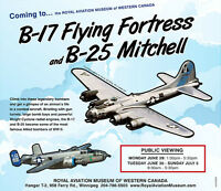 WWII bombers coming to Winnipeg!