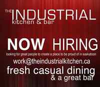 THE INDUSTRIAL - NOW HIRING LINE COOKS