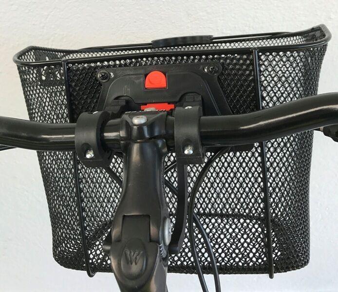 fahrradkorb lenkerkorb einkaufskorb schultaschenkorb fahrrad korb abnehmbar clip eur 14 99. Black Bedroom Furniture Sets. Home Design Ideas